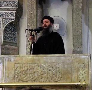 Abu Bakr al Baghdadi, líder de Daesh