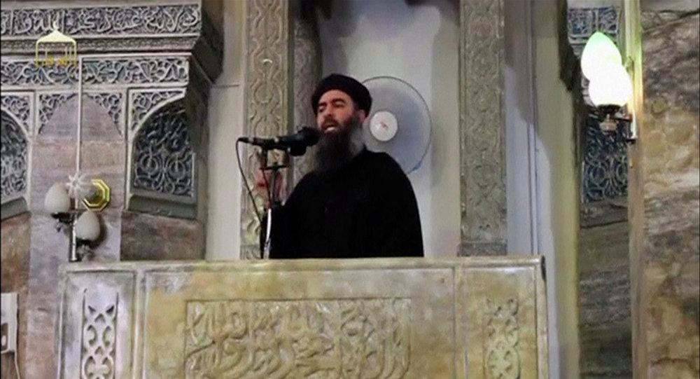 Abu Bakr al Bagdadi, líder del grupo terrorista Daesh (archivo)