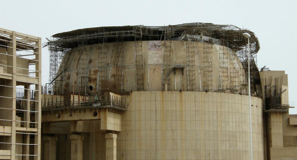 Сentral eléctrica nuclear en Bushehr (Irán)
