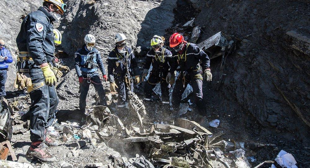 Investigación de accidente del Airbus A320 de Germanwings