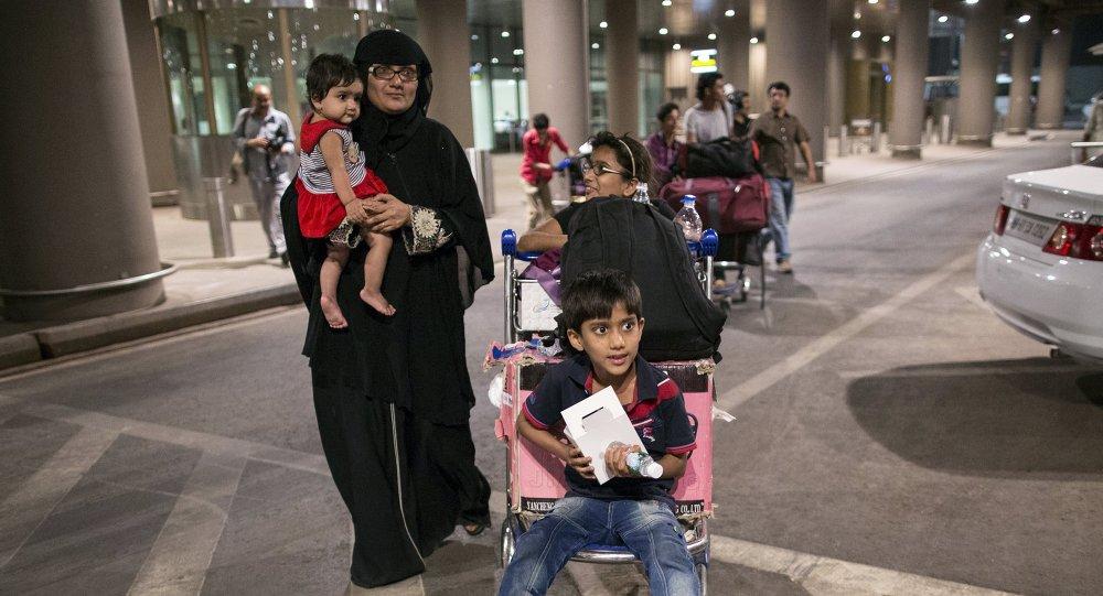 India evacúa de Yemen a más de 800 ciudadanos