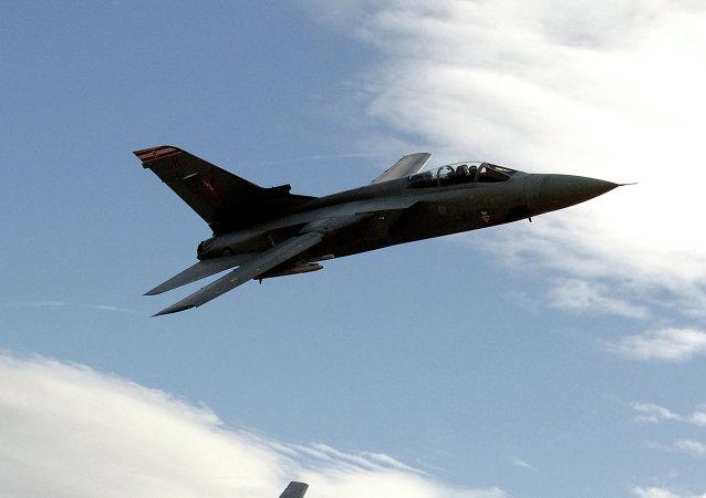 Cazas Tornado F3 de la Fuerza Aérea británica patrullan los cielos de las Malvinas
