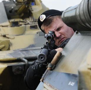 Los ejercicios militares en Rusia (archivo)