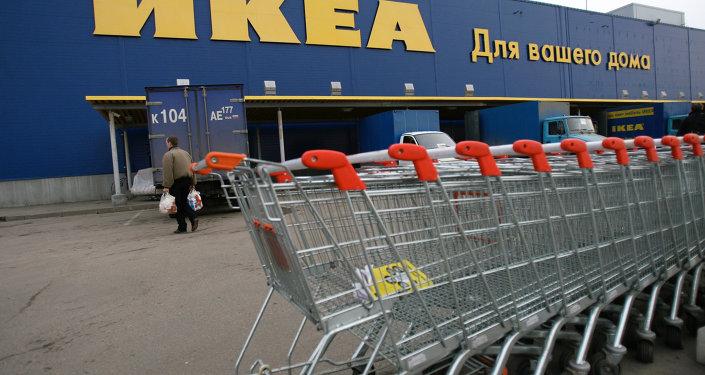 Una tienda de IKEA en las afueras de Moscú (archivo)