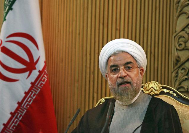 Hasán Rohaní, presidente de Irán (archivo)