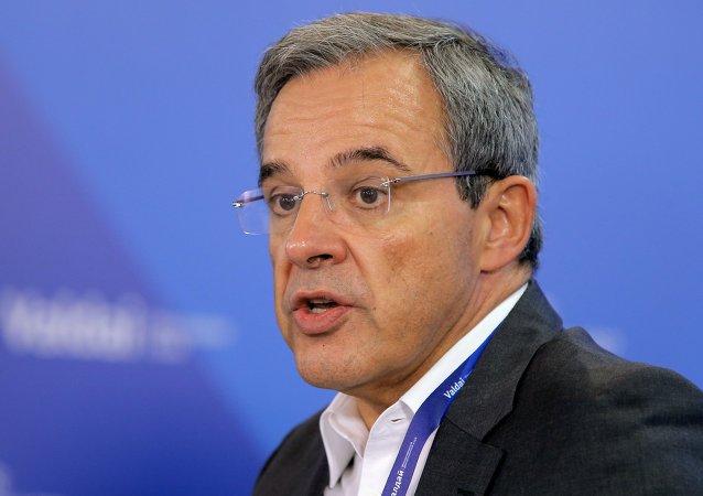 Thierry Mariani, copresidente de la asociación Diálogo Franco-Ruso