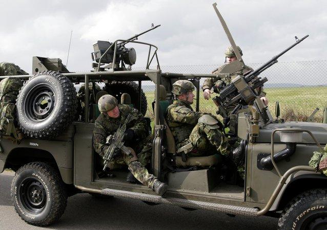 La OTAN completa la primera fase de ejercicios de las fuerzas de reacción rápida
