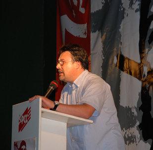 Joan Josep Nuet, diputado español de Izquierda Unida (IU)