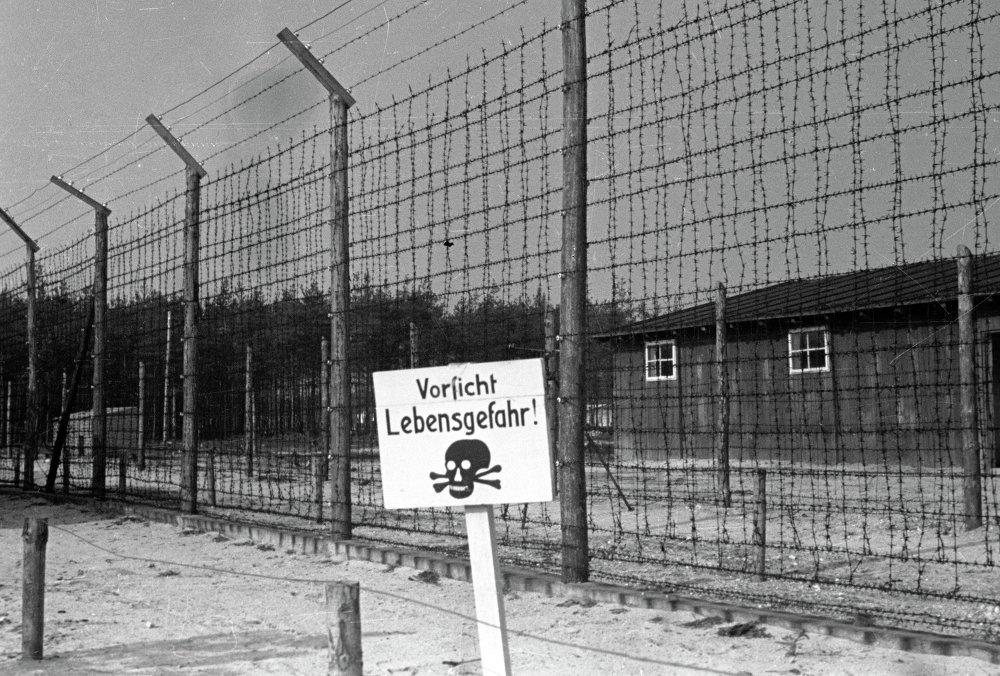 Alambrado del campo de Majdanek