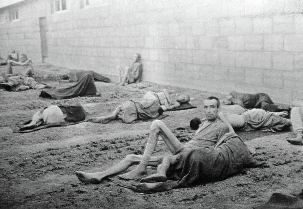 Presos del campo de exterminio de Mauthausen