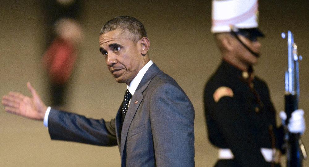 Presidente de EEUU, Barack Obama, llega a Panamá para participar en la Cumbre de las Américas