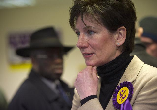 Diane James, miembro del Parlamento Europeo