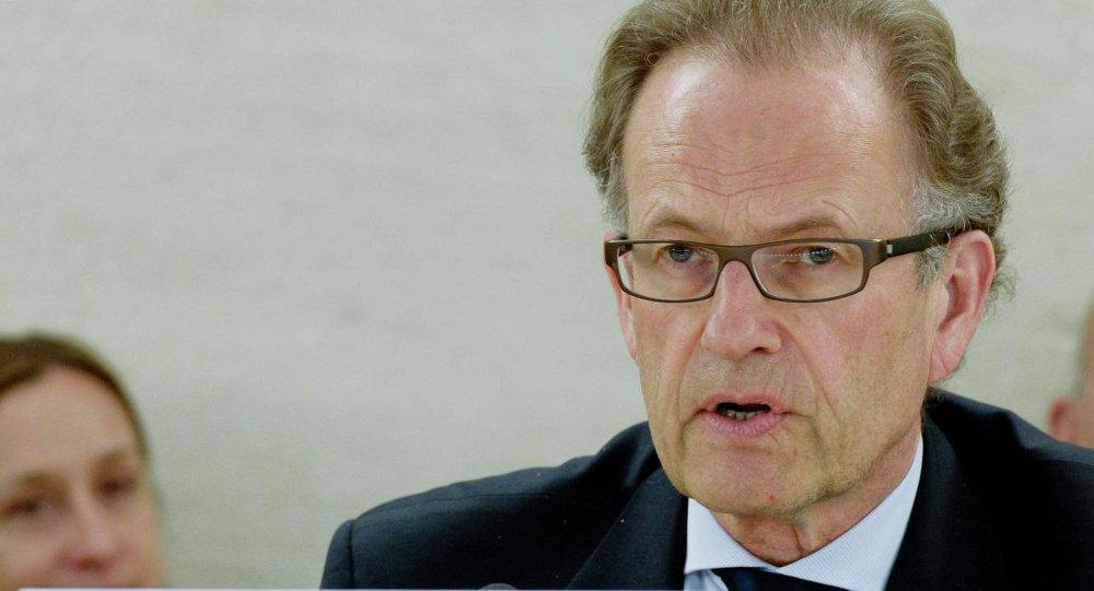 Michael Møller, director general de la oficina de la ONU en Ginebra