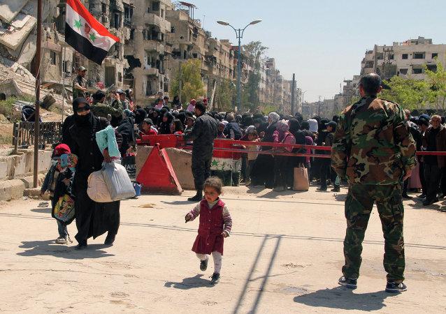 Campo de refugiados palestinos de Yarmuk