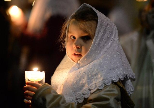 Los cristianos ortodoxos celebran la preclara fiesta de la Pascua