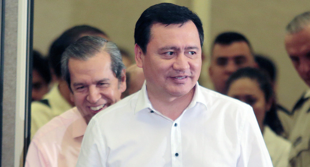 Ángel Osorio Chong, secretario de Gobernación Interior de México