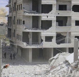 Situación en Damasco, la capital de Siria