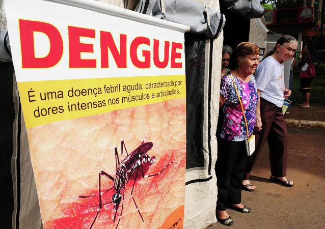 La lucha contra el dengue en Brasil