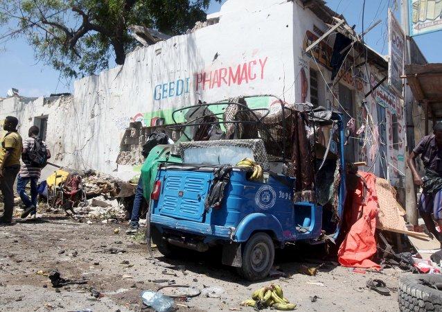 Ataque en Mogadiscio (archivo)