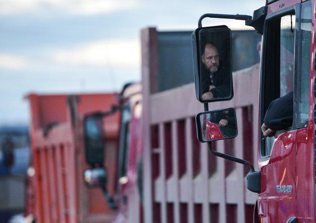 Camiones Kamaz en Sochi
