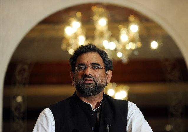 Shahid Abbasi, ministro de Petróleo y Recursos Naturales de Pakistán
