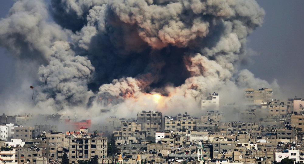 En 50 días de la última guerra de Gaza los bombardeos del Ejército israelí mataron a 2.200 personas e hirieron a más de 11.000