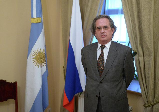 Pablo A. Tettamanti,  embajador de la Argentina en Moscú (archivo)
