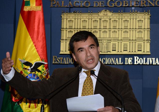 Juan Ramón Quintana, ministro de la Presidencia de Bolivia
