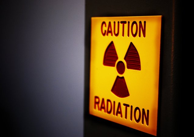 Símbolo de radiación (imagen referencial)