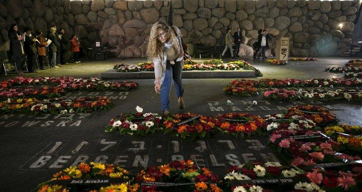Homenaje a los judíos víctimas del Holocausto