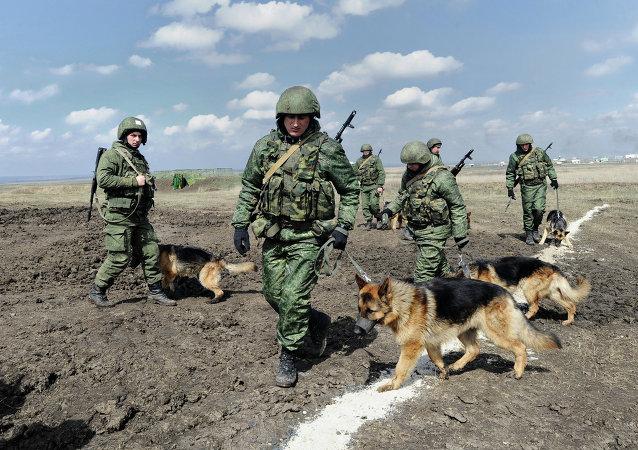 Tropas del Interior de Rusia