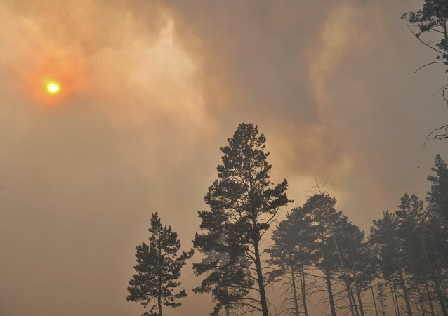 Incendios forestales in Siberia