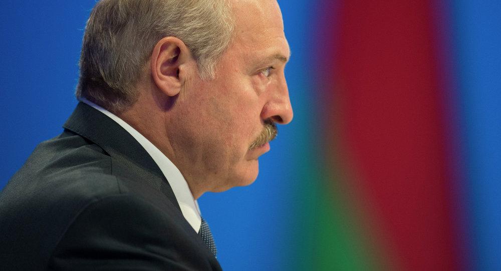 El presidente de Bielorrusia Alexandr Lukashenko