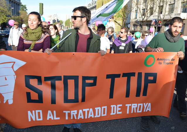 "Madrid grita ""¡No al TTIP!"""