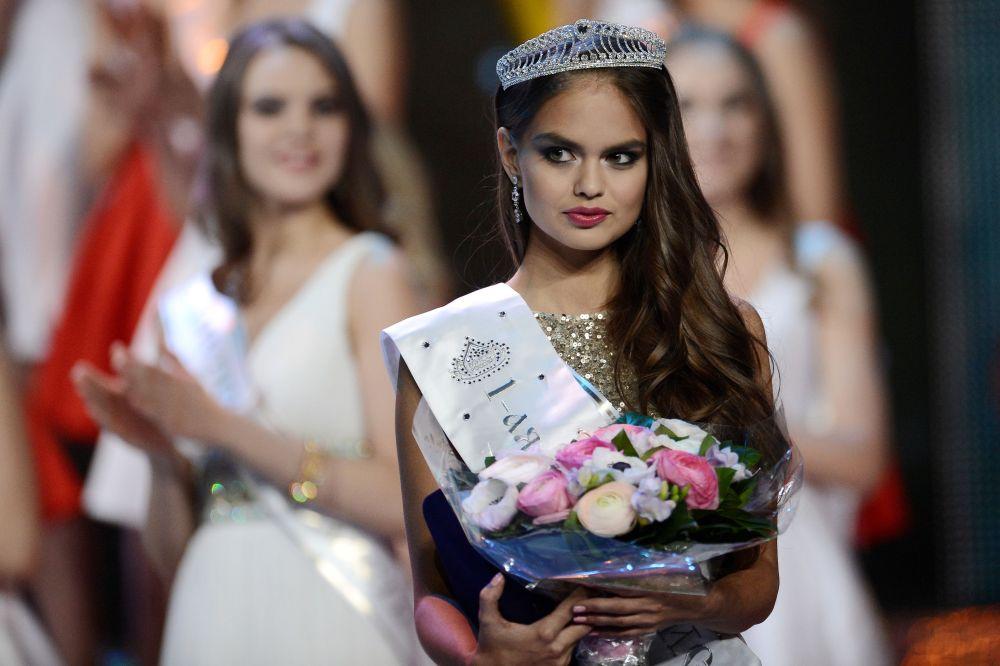 La primera vice Miss Rusia 2015, Vladislava Yevtushenko de Chitá (Siberia)