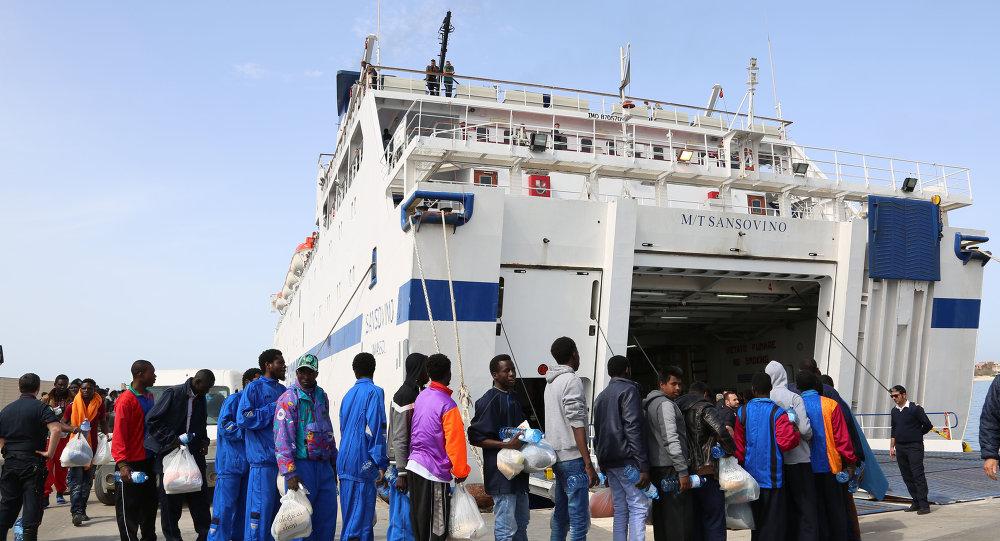Naufragio del ferry en el Mediterráneo