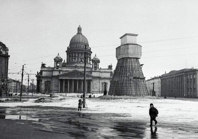 El Leningrado sitiado