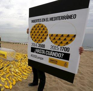 Amnistía Internacional urge a la UE que ponga fin a los naufragios en el Mediterráneo