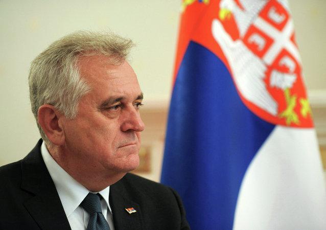 Tomislav Nikolic, presidente de Serbia