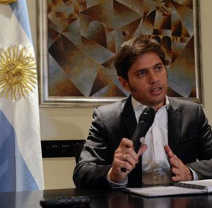 Axel Kicillof, ministro de Economía de Argentina