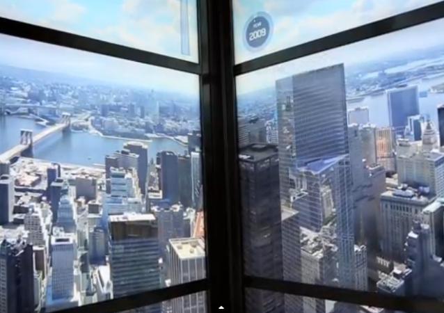 El ascensor que viaja en el tiempo