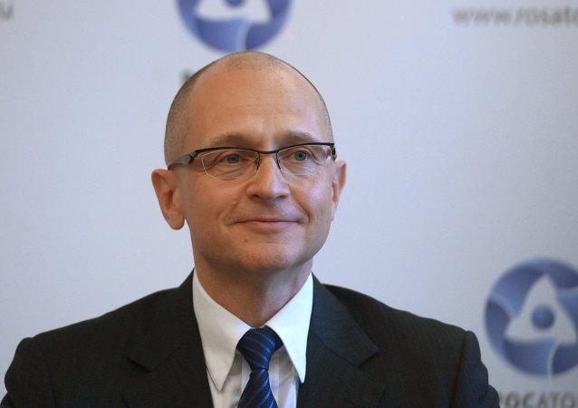 Serguéi Kirienko, director general de la corporación estatal rusa Rosatom