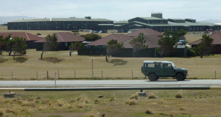 Mount Pleasant, la base militar de Reino Unido en las islas Malvinas