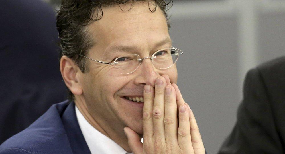 Jeroen Dijsselbloem, presidente del Eurogrupo, el socialdemócrata holandés