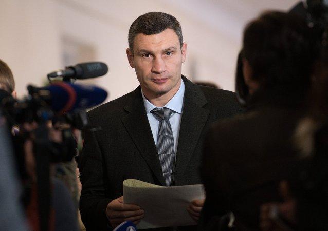 Vitali Klitschko, alcalde de Kiev
