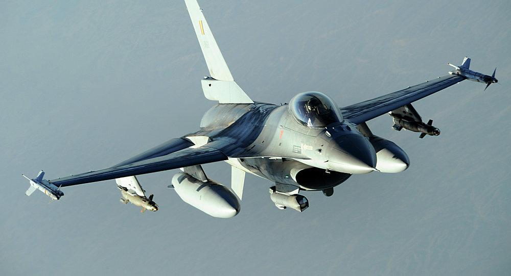 F-16 de la Fuerza Aérea de Bélgica