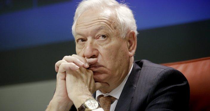El ministro de Asuntos Exteriores español, José Manuel García-Margallo