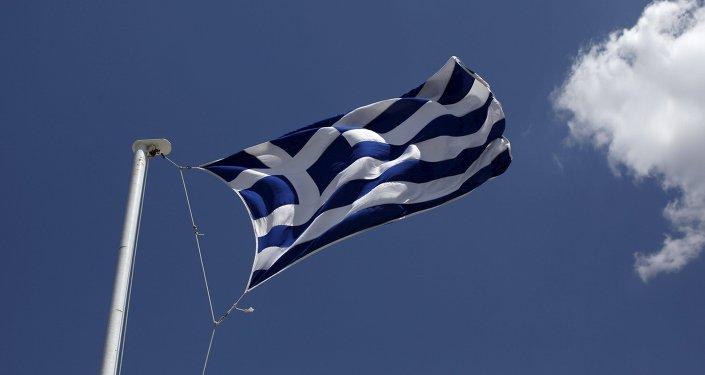 Bandera de grecia (imagen referencial)