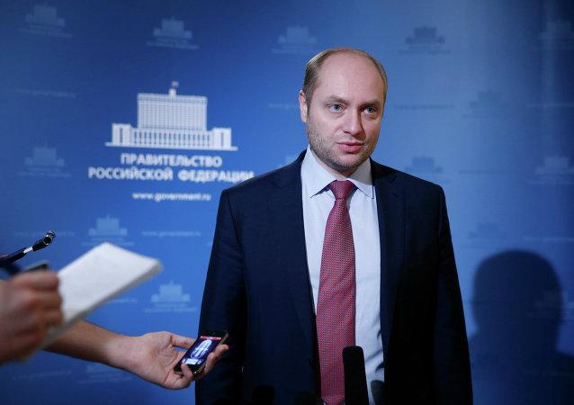 Alexandr Galushka, ministro de Desarrollo Económico del Lejano Oriente de Rusia