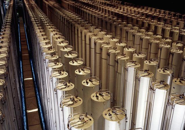 Centrifugadoras de gas para enriquecimiento de uranio (archivo)